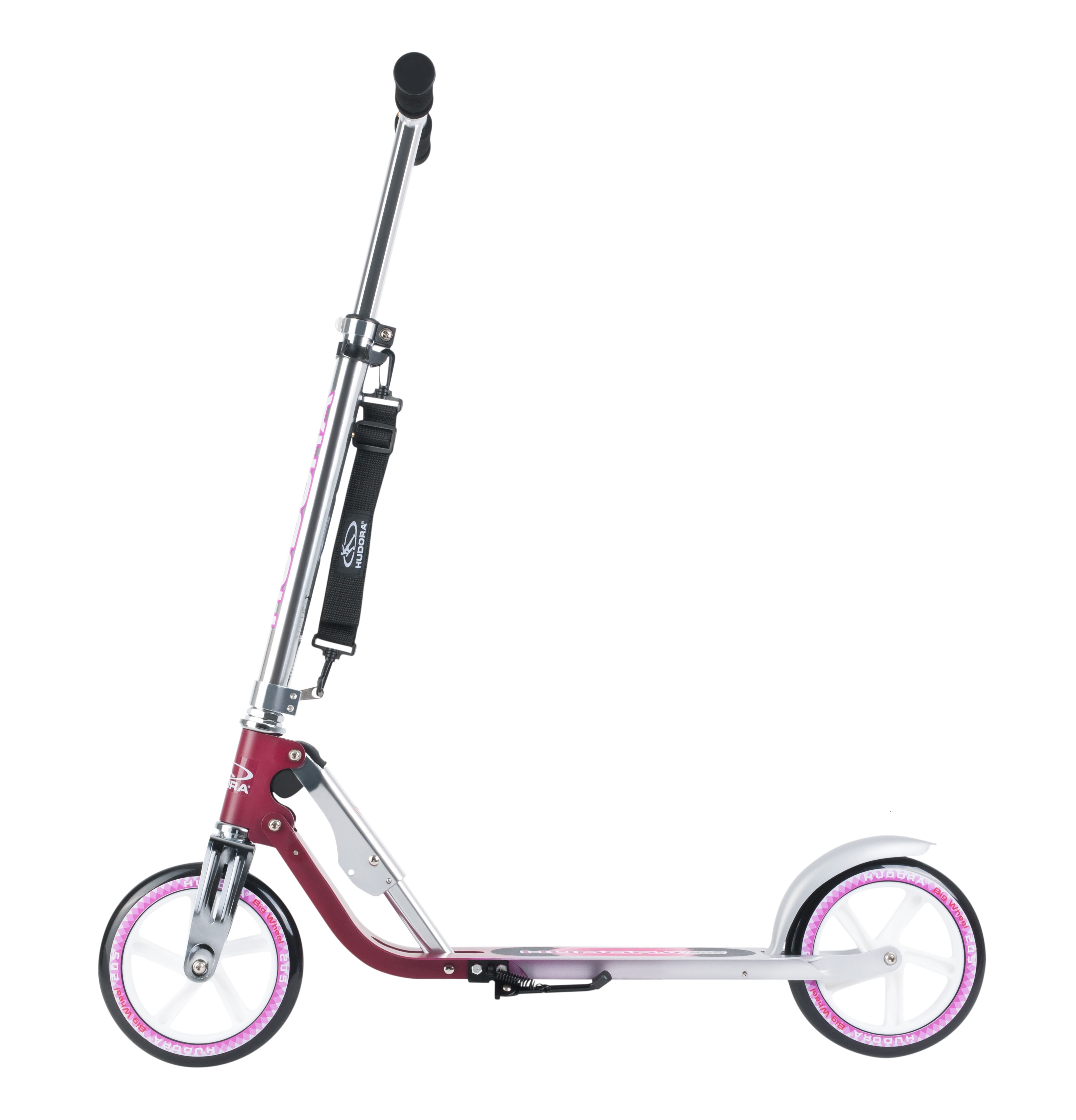 Самокат HUDORA Big Wheel 205 NEW magenta